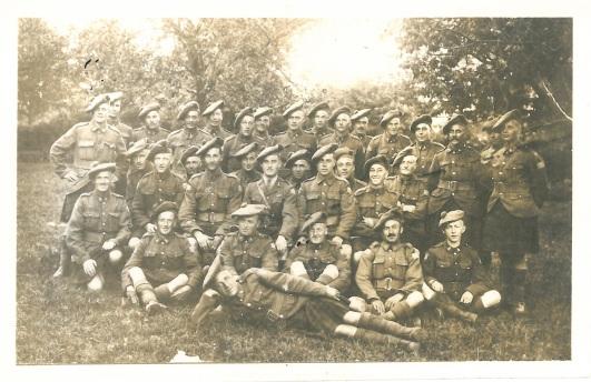"L'image de ""Dumbell Platoon, 42nd Battalion CEF"""