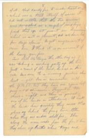 "Lettre de ""Serg. Edwin Stewart Turner à sa soeur (pg. 2)"""