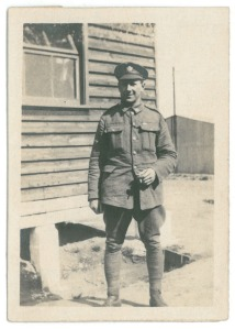 Portrait de Pte. William Barker