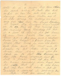 "Lettre de ""Mme William Barker à son fils (pg. 2)"""
