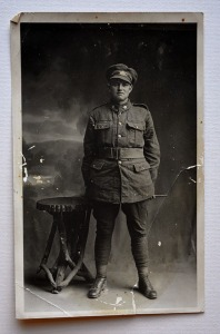 Portrait de Pte. Robert Harold Johnston