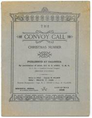 "Page courverture de ""The Convoy Call"""