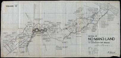 """L'image de """"Zone neutre (No Man's Land), 11e Brigade d'Infanterie"""""""
