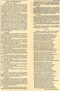 """Pages intérieures de """"The Listening Post"""" 21 juillet 1916"""