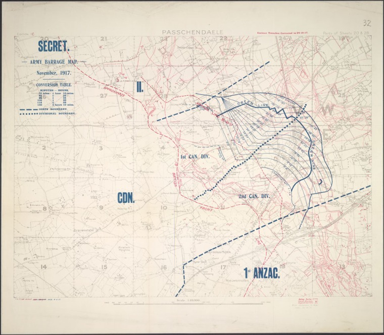 passchendaele_barrage_map_LAC